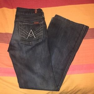 """""""A Pocket"""" 7 For All Mankind Jeans"""